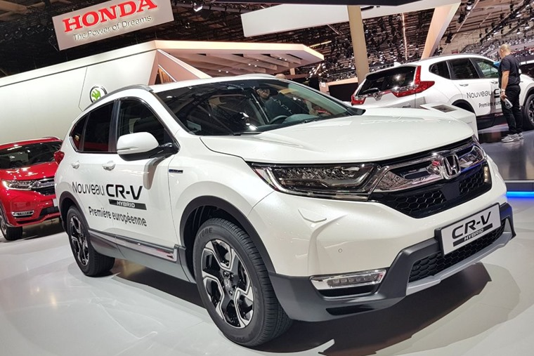 Honda CR-V Paris Motor Show 2018