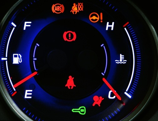 Too Many Dashboard Warning Lights Causing Driver Confusion
