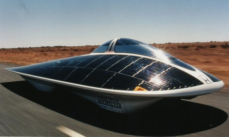 Honda's solar car