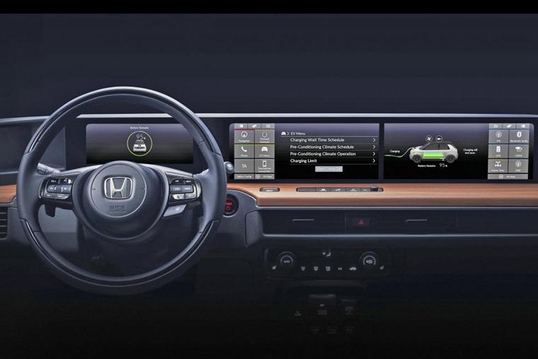 Honda Urban EV interior revealed
