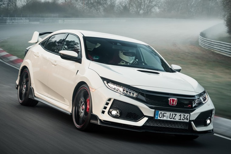 The mad Type R will take on the hillclimb event/