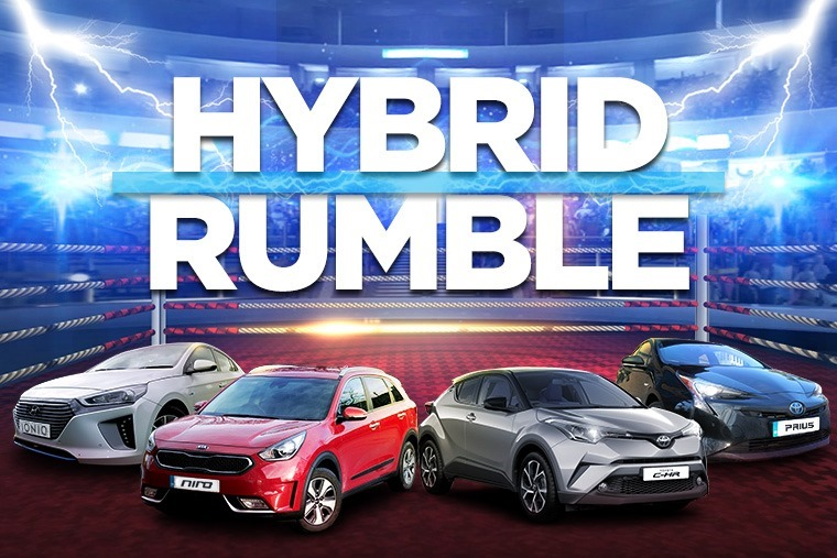 The ultimate hybrid rumble...