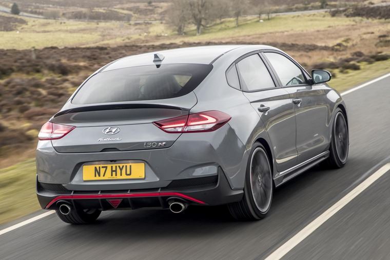 Hyundai i30 Fastback N rear