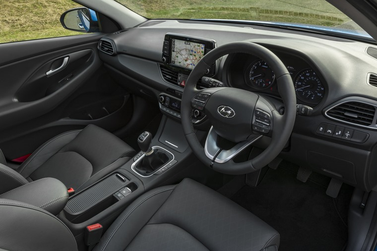Hyundai i30 Tourer interior