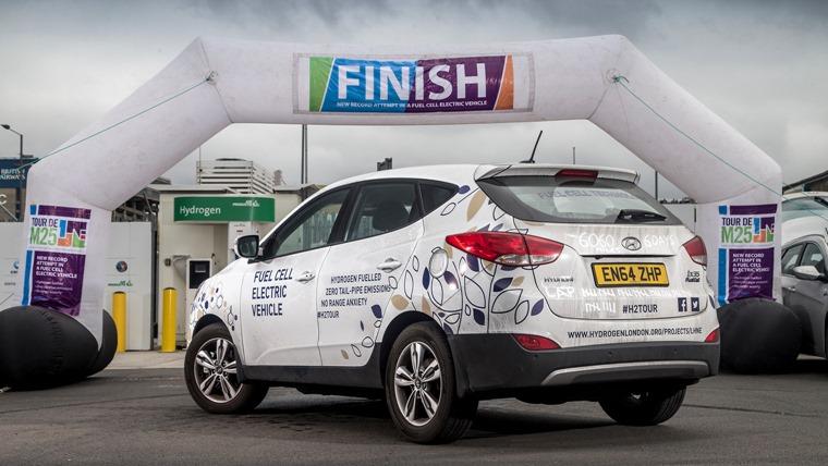 Hyundai ix35 Fuel Cell Vehicle hydrogen white (1)