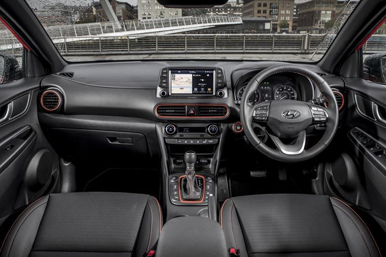 Hyundai Kona 2017 interior