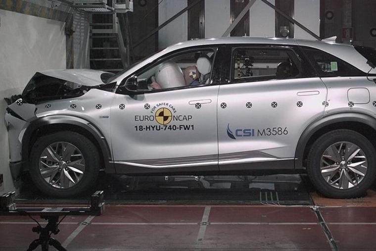Hyundai Nexo crash test 2018