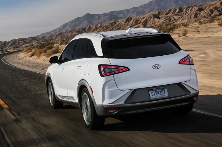 Hyundai Nexo rear