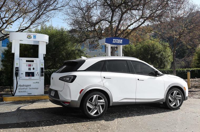 Hyundai Nexo refuelling