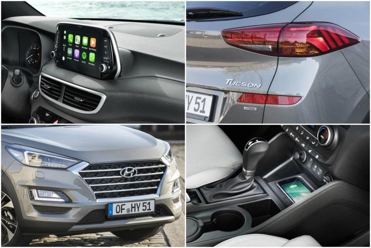 Hyundai Tucson details