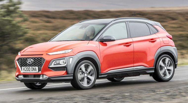 Hyundai Kona styling