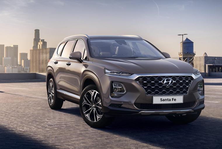 Hyundai_New Santa Fe exterior 2018 Geneva Motor Show