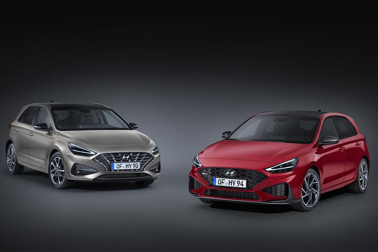 All-new i30 and i30 N-Line front