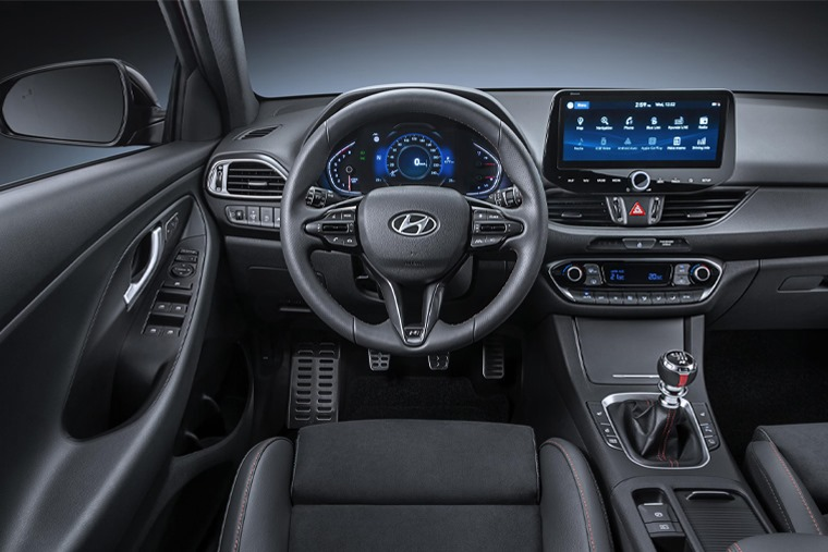 All-new i30 N-Line interior