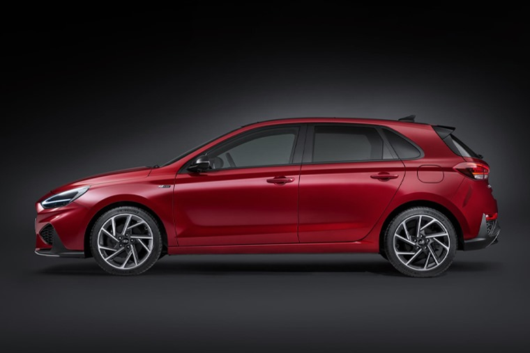 All-new i30 N-Line direct side