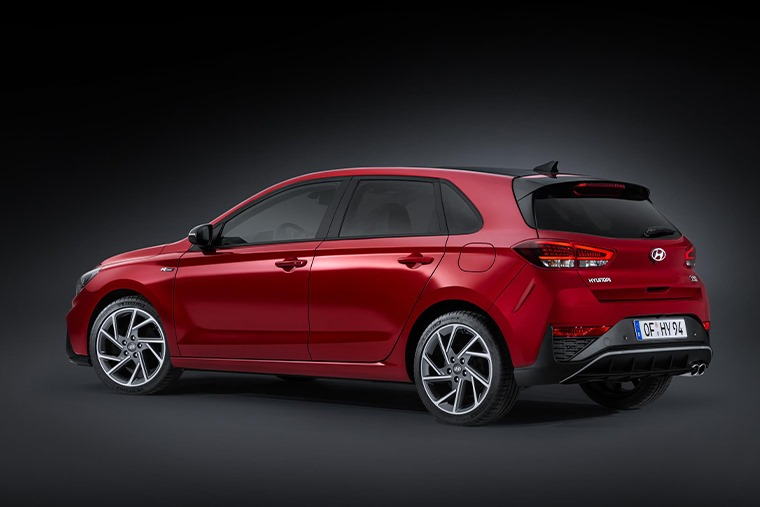 All-new i30 N-Line side