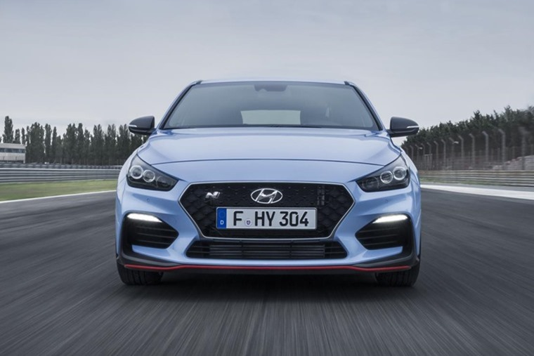 The Hyundai i30 N has made this year's shortlist, bagging the 'Best Hot Hatch' category.