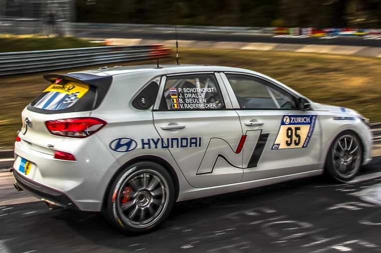 Taking part in the gruelling Nurburgring 24h ensured the i30 N got a good workout ahead of going on sale.
