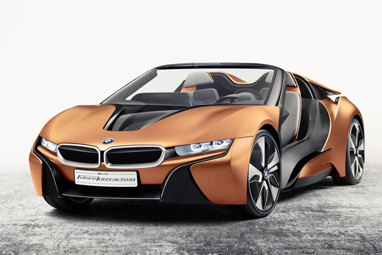 BMW i8 roadster in concept form