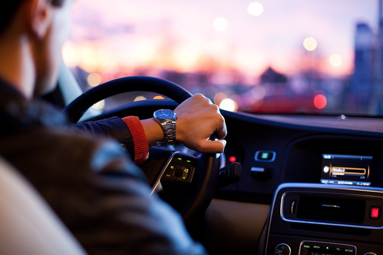IAM Roadsmart in car