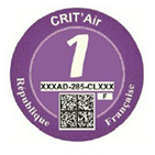 Crit Air Purple