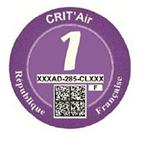 Crit Air Purple