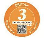 Crit Air Orange