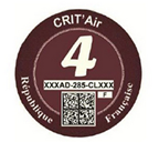 Crit Air Red
