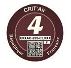 Crit Air Red