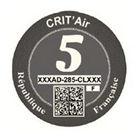 Crit Air Grey