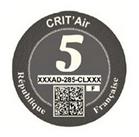 Crit Air Grey