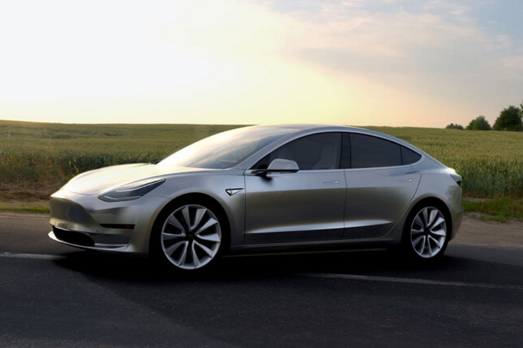 Tesla's Model 3 is due to hit the production line in July