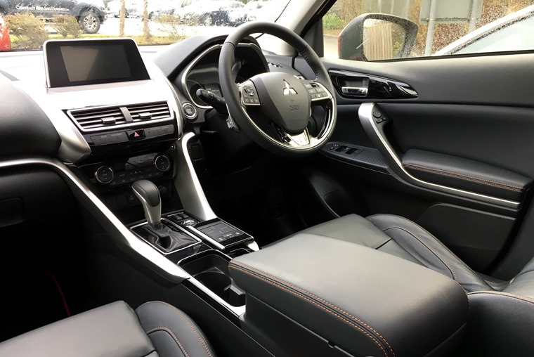 Eclipse Cross interior