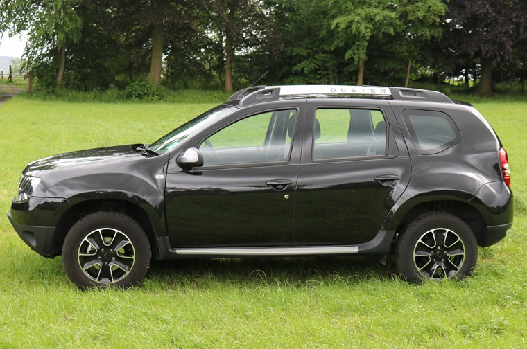 High-riding suspension and chunky tyres make the Duster supremely comfortable.