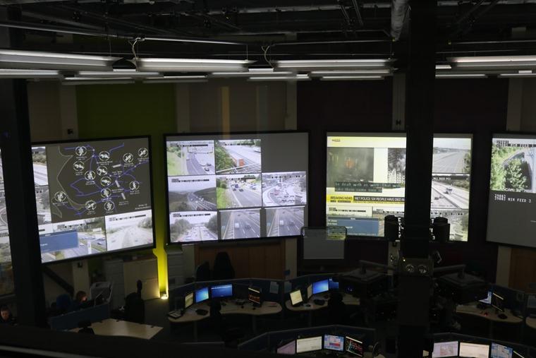 Inside Highways England North West Regional Control Centre