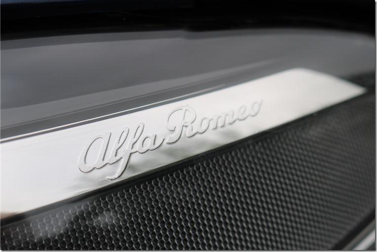 Alfa Romeo Giulia headlight detail