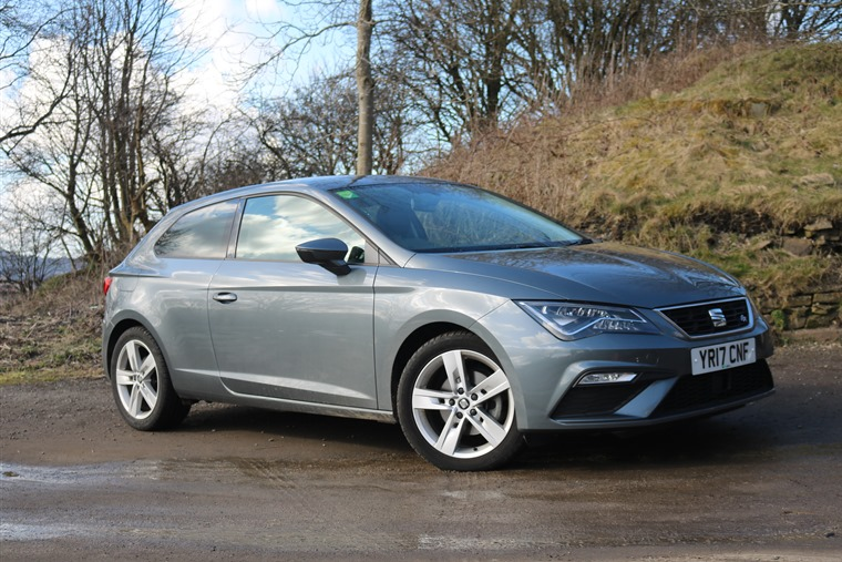 Seat Leon front n/s