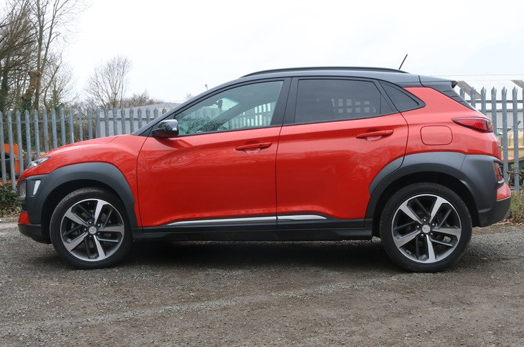 Hyundai Kona side