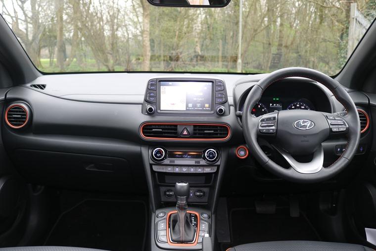 Hyundai Kona interior