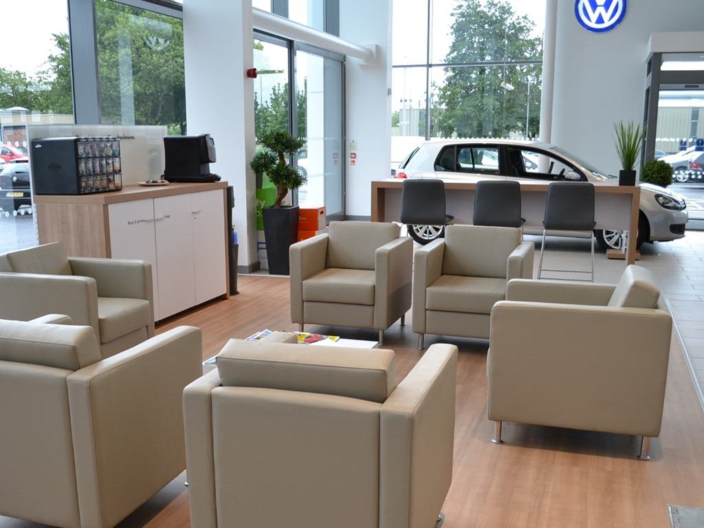 Volkswagen sprucing up its dealership network