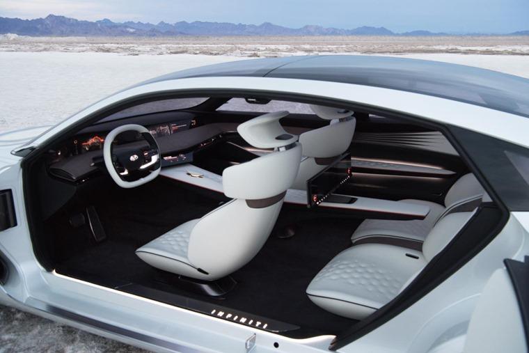 Infiniti Q Inspiration features rear-hinged rear doors.
