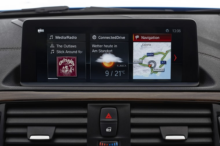 BMW 2 Series infotainment