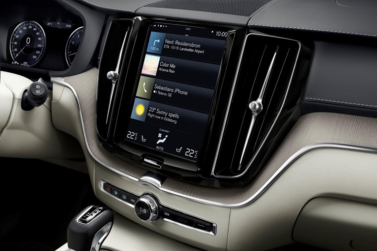 Infotainment system comes in 9in and 12.3in form, and includes satnav on all models.