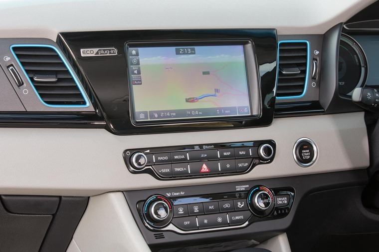 Gallery: An 8in touchscreen infotainment system features, with satnav and Apple CarPlay compatibility.
