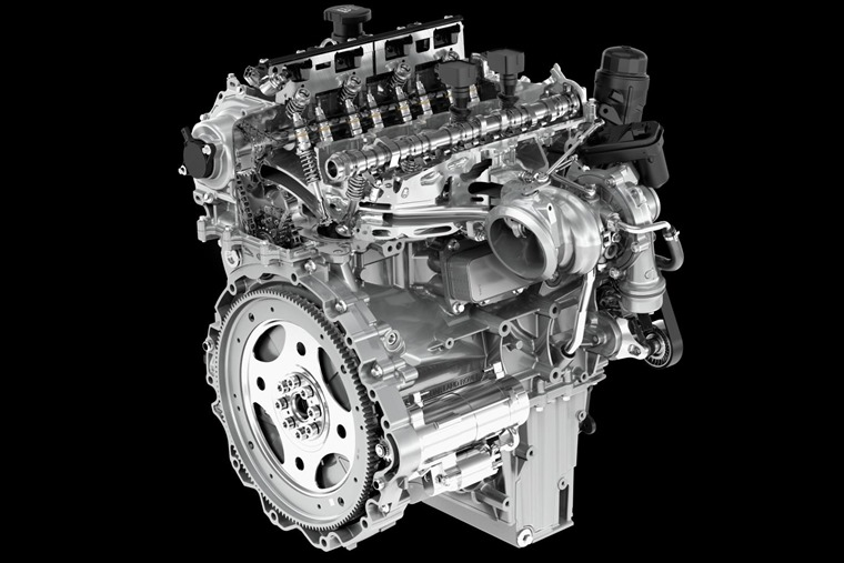 While electrification is the future, JLR says there is still very much a place for its latest combustion engines like the Ingenium diesel pictured here.