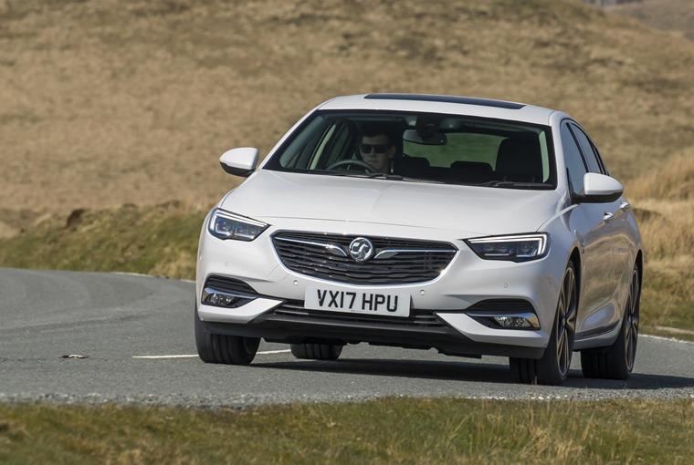 Vauxhall Insignia Grand Sport Elite front