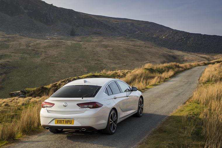 Vauxhall Insignia Grand Sport Elite rear