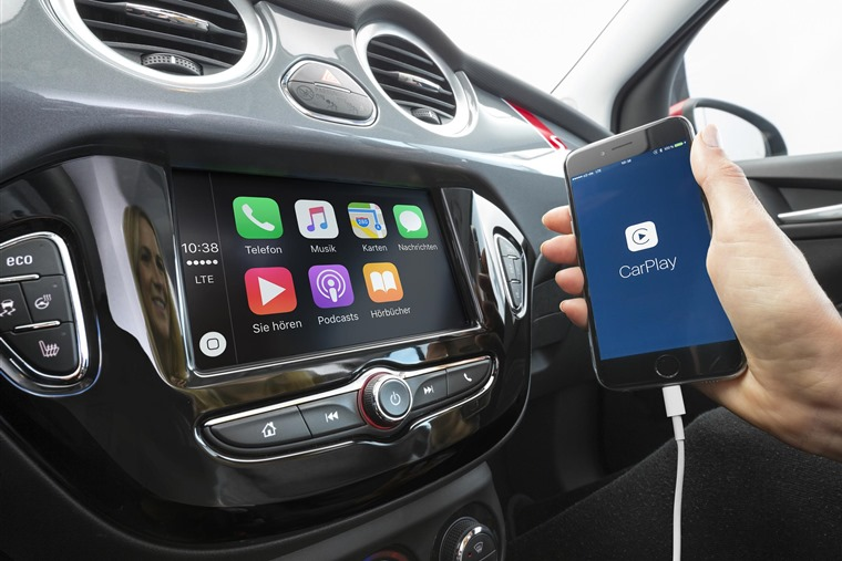 Integrating smartphone tech in to car interiors is now becoming the norm.