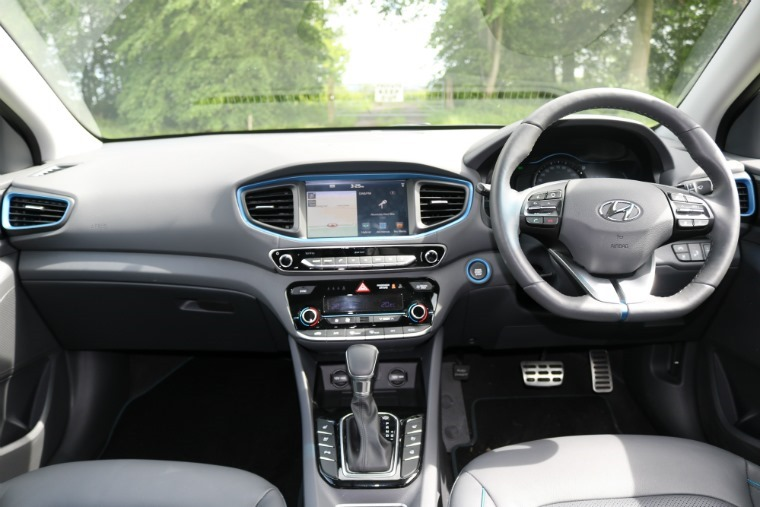 The interior is ergonomically fantastic, as is quality. On par with any European or Japanese rival overall.