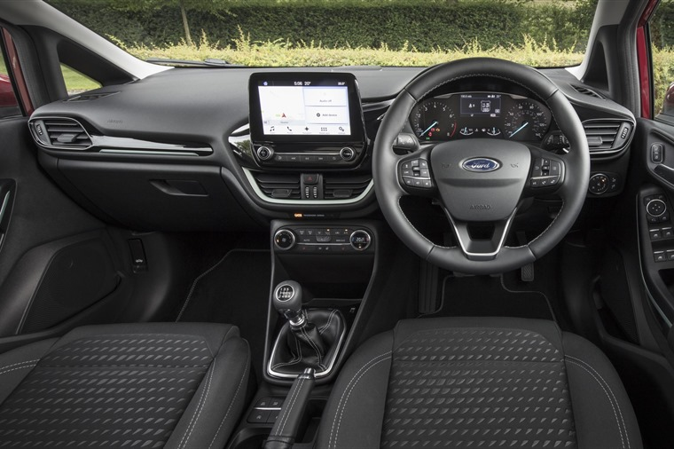 Ford Fiesta 2017 interior